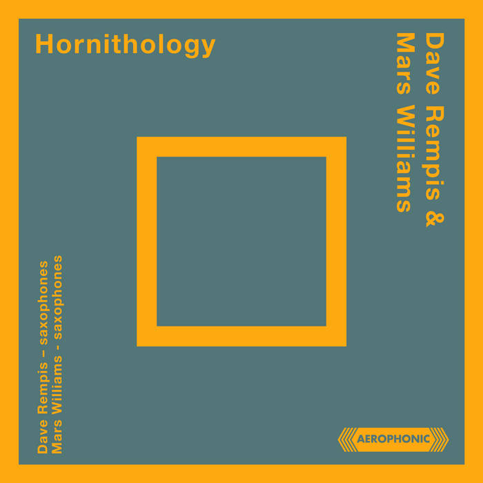 DAVE REMPIS - Dave Rempis & Mars Williams : Hornithology cover
