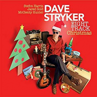 DAVE STRYKER - Eight Track Christmas cover