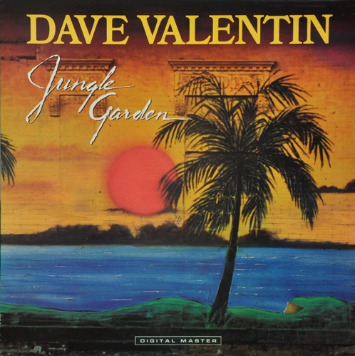 DAVE VALENTIN - Jungle Garden cover