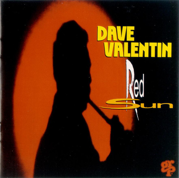 DAVE VALENTIN - Red Sun cover