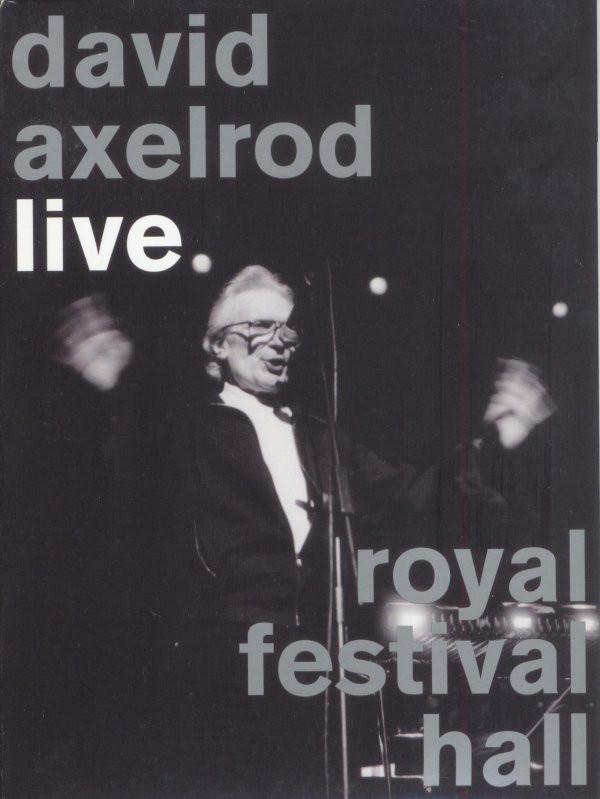 DAVID AXELROD - Live Royal Festival Hall cover