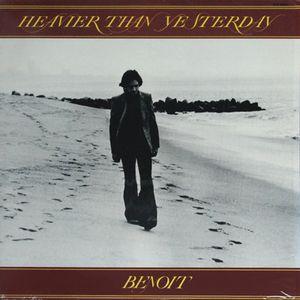 DAVID BENOIT - Heavier Than Yesterday cover