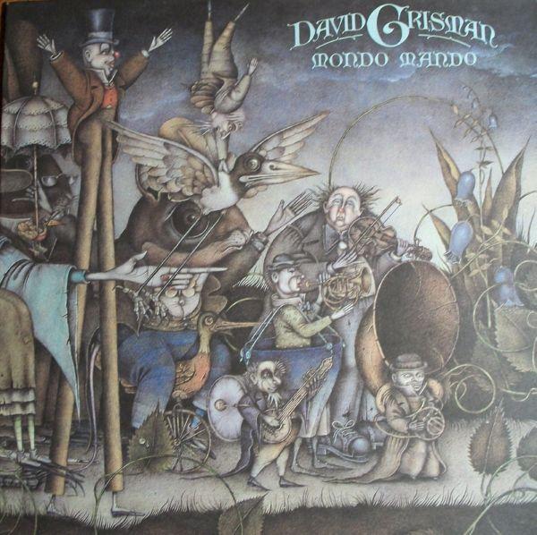 DAVID GRISMAN - Mondo Mando cover