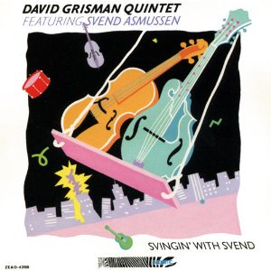 DAVID GRISMAN - Svingin' with Svend cover