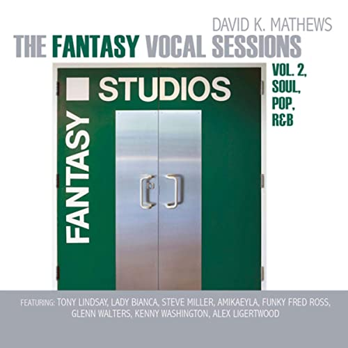 DAVID K. MATHEWS - Fantasy Vocal Sessions Vol 2 cover