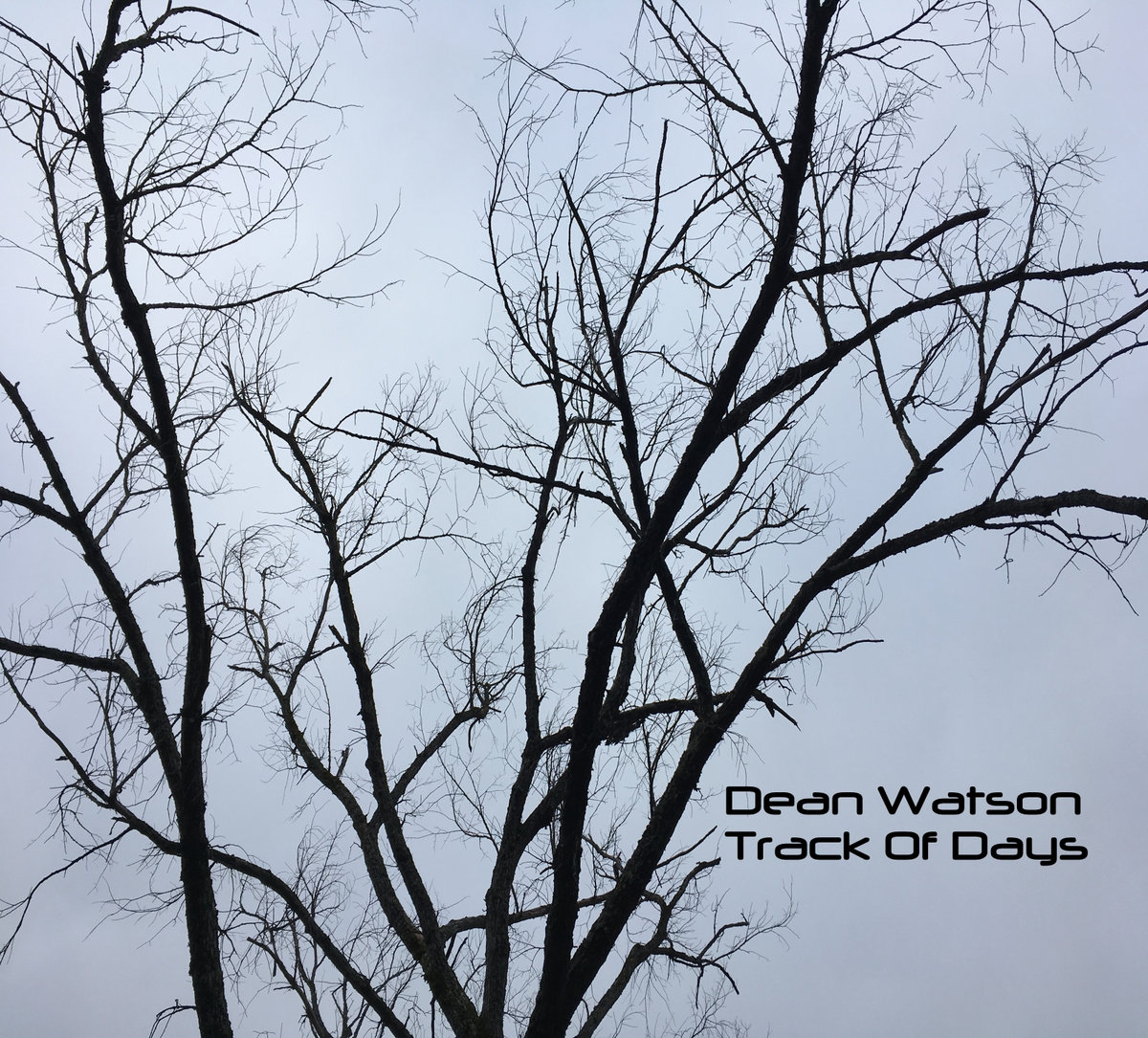 DEAN WATSON - Track Of Days cover
