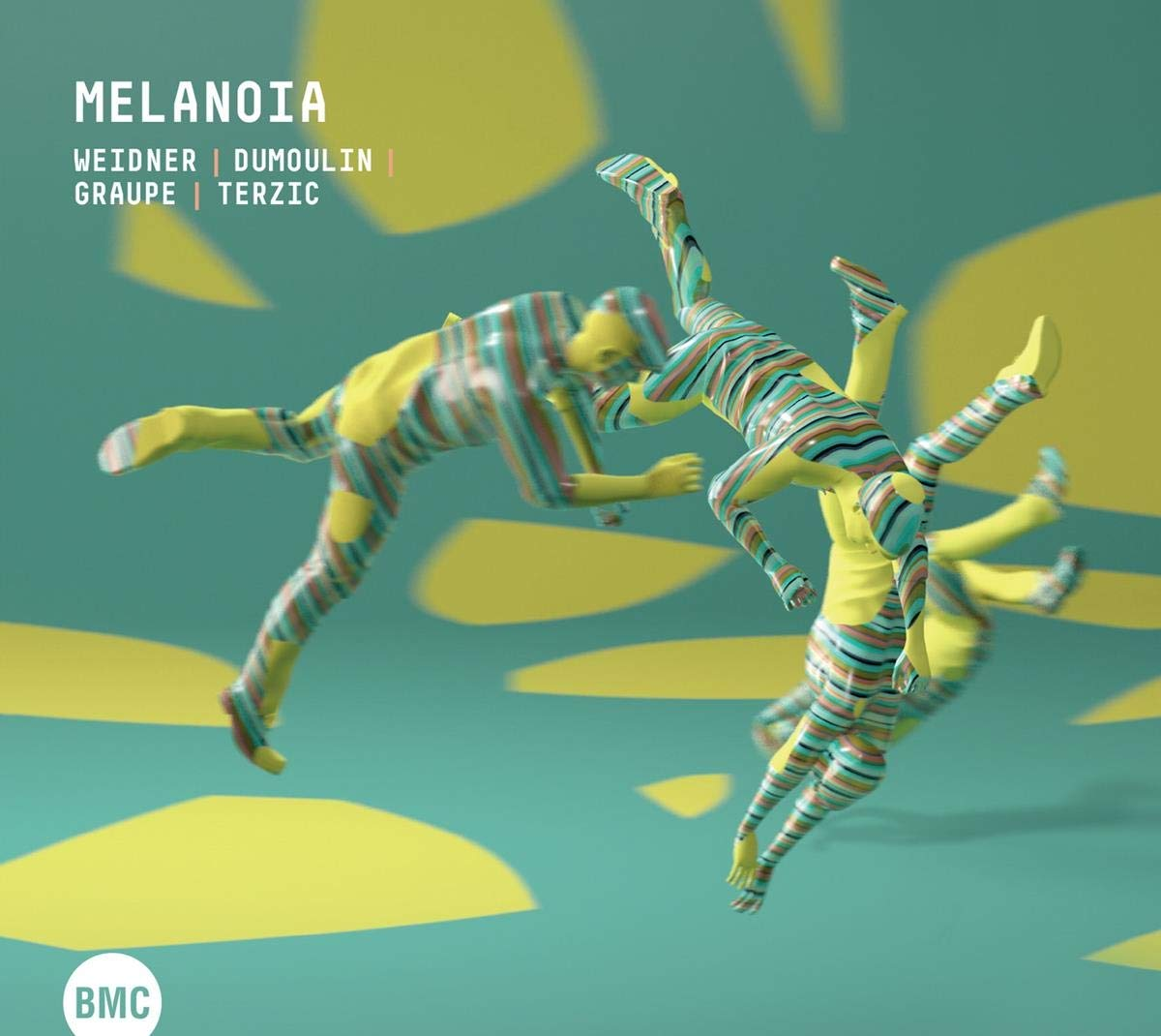 DEJAN TERZIĆ - Melanoia : Weidner | Dumoulin | Graupe | Terzic cover