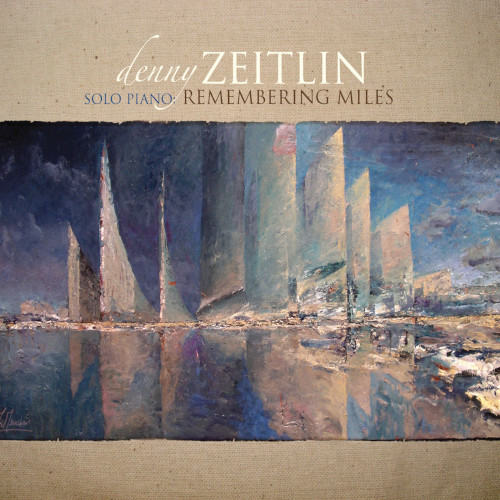 DENNY ZEITLIN - Solo Piano : Remembering Miles cover