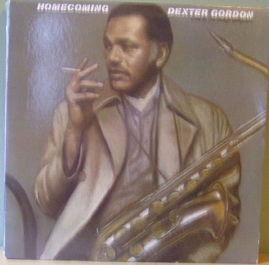 DEXTER GORDON - Homecoming, Live at the Village Vanguard cover