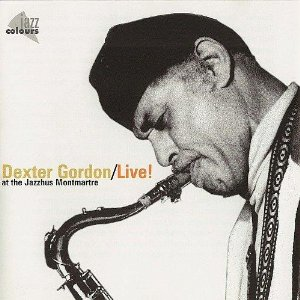 DEXTER GORDON - Live at Montmartre cover