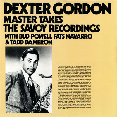 DEXTER GORDON - Master Takes. The Savoy Recordings cover