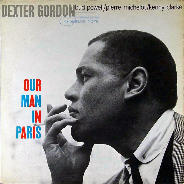 DEXTER GORDON - Our Man in Paris cover