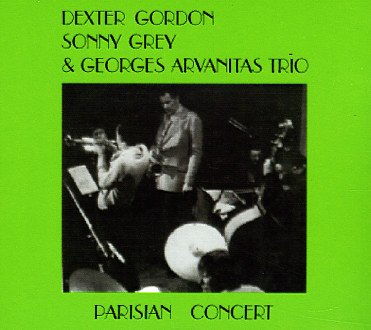 DEXTER GORDON - Parisian Concert cover