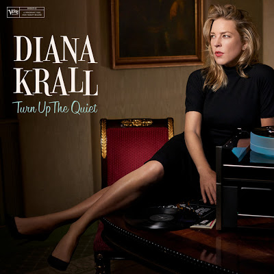 DIANA KRALL - Turn Up The Quiet cover