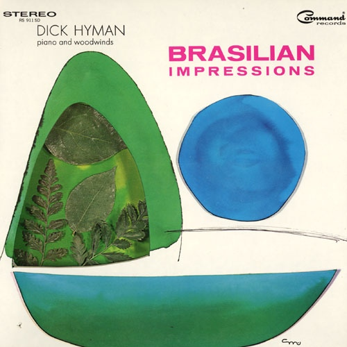 DICK HYMAN - Brasilian Impressions cover