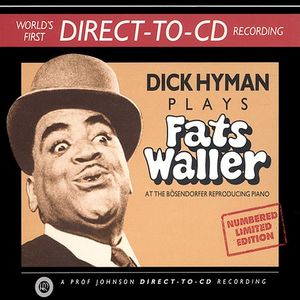 DICK HYMAN - Dick Hyman Plays Fats Waller cover