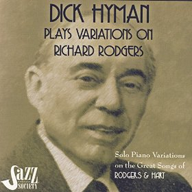 DICK HYMAN - Dick Hyman Plays Variations On Richard Rodgers cover