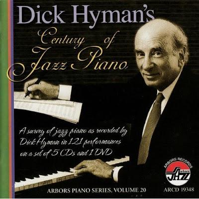 DICK HYMAN - Dick Hyman's Century Of Jazz Piano cover