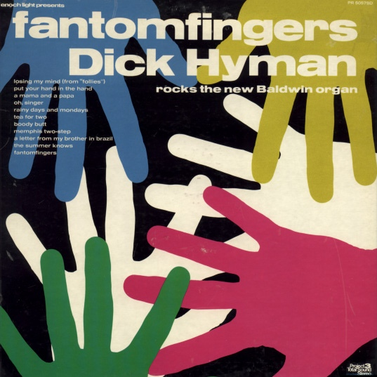 DICK HYMAN - Fantomfingers cover