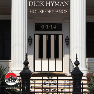 DICK HYMAN - House of Pianos cover