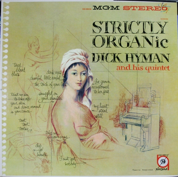 DICK HYMAN - Strictly Organ-ic! cover