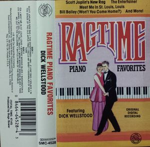 DICK WELLSTOOD - Ragtime Piano Favorites cover