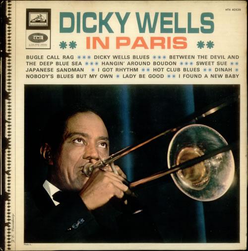 DICKIE WELLS - In Paris (aka Dicky Wells In Paris, 1937) cover