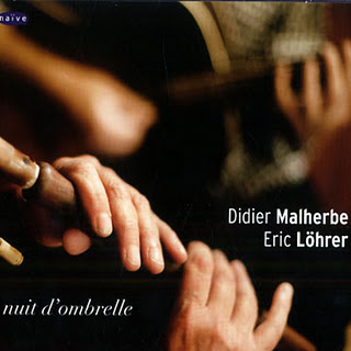 DIDIER MALHERBE - Nuit D'Ombrelle (with Eric Löhrer) cover