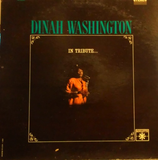 DINAH WASHINGTON - In Tribute cover