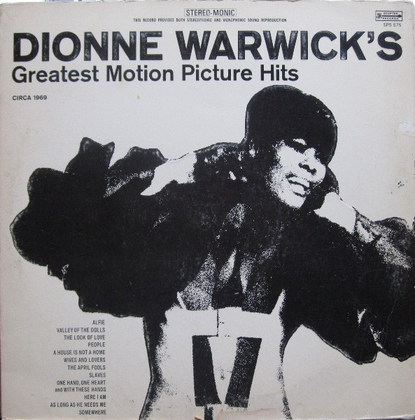 DIONNE WARWICK - Greatest Motion Picture Hits cover