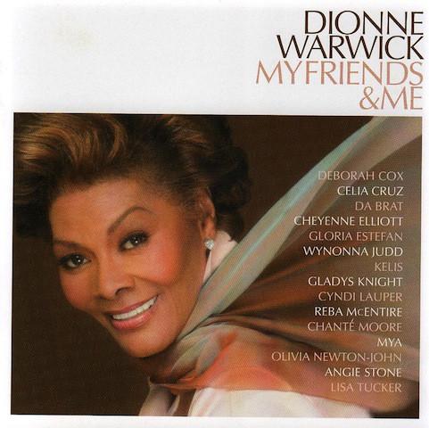 DIONNE WARWICK - My Friends & Me cover