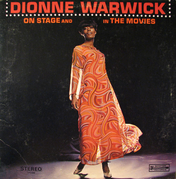 DIONNE WARWICK - On Stage And In The Movies cover