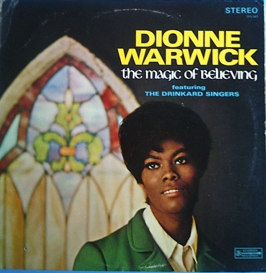 DIONNE WARWICK - The Magic Of Believing cover