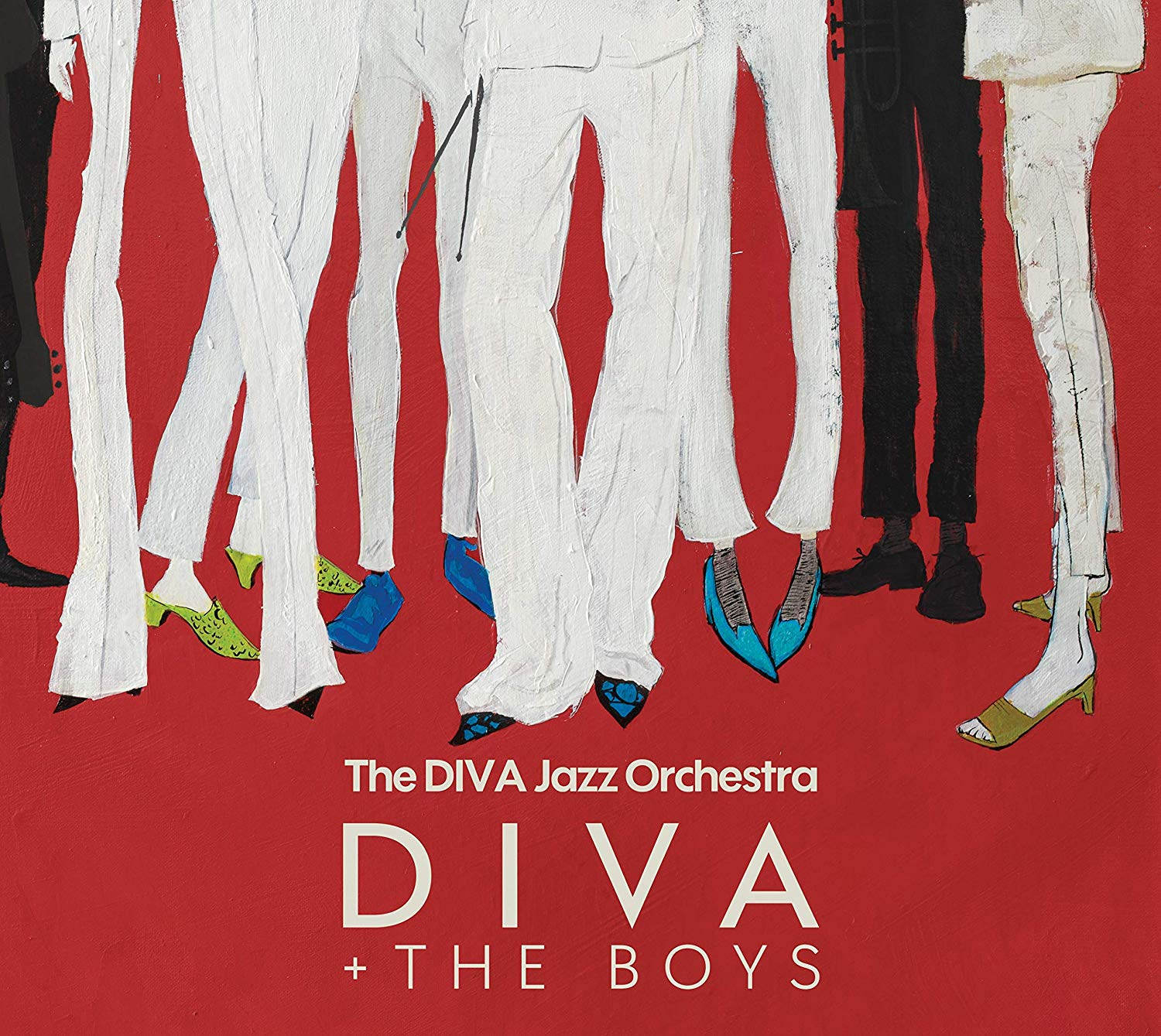 DIVA - DIVA + The Boys cover
