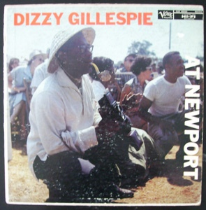 DIZZY GILLESPIE - At Newport cover