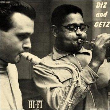 DIZZY GILLESPIE - Diz And Getz cover