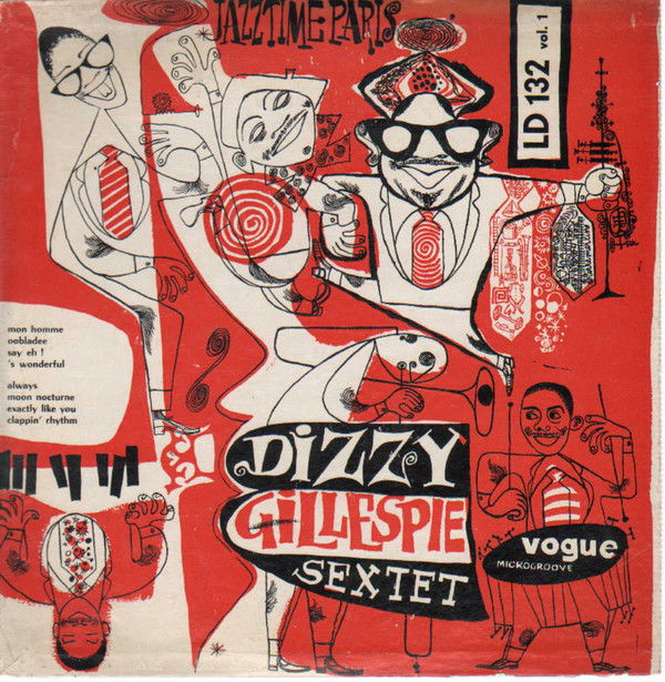 DIZZY GILLESPIE - Jazztime Paris Vol. 1 / Dizzy Gillespie Showcase cover
