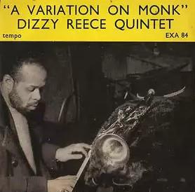 DIZZY REECE - Dizzy Reece Quintet : A Variation On Monk cover