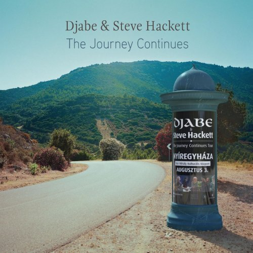 DJABE - Djabe & Steve Hackett : The Journey Continues cover
