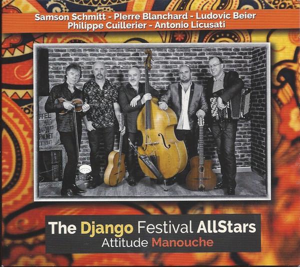 DJANGO FESTIVAL ALL STARS - Attitude Manouche cover