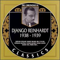 DJANGO REINHARDT - The Chronological Classics: Django Reinhardt 1938-1939 cover