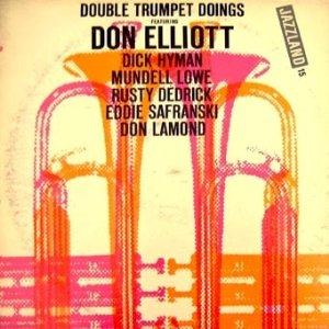 DON ELLIOTT - Double Trumpet Doings cover