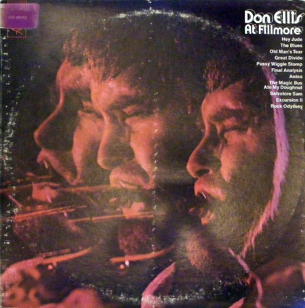 DON ELLIS - At Fillmore cover