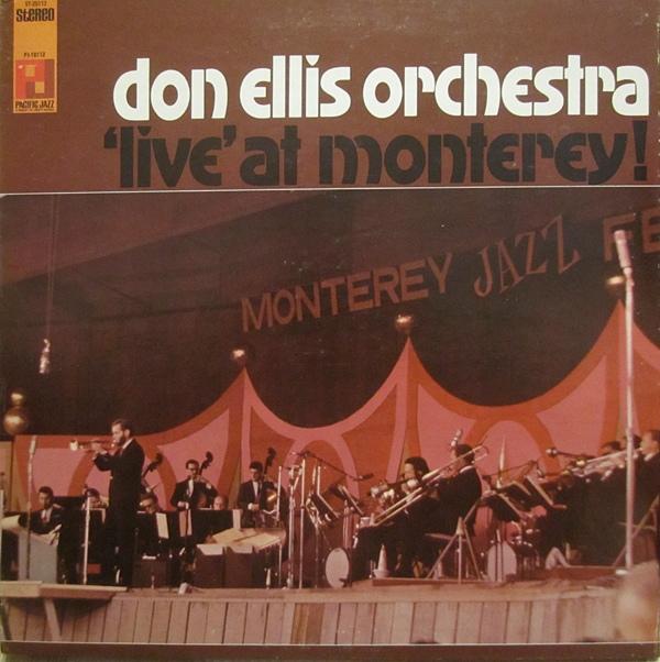 DON ELLIS - Live at Monterrey cover