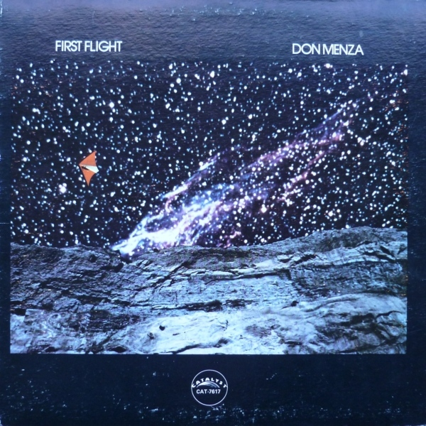 DON MENZA - First Flight cover