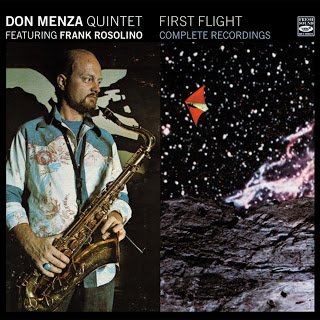 DON MENZA - First Flight - Complete Recordings cover