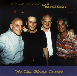 DON MENZA - The Don Menza Quartet : Live at Capozzoli's cover