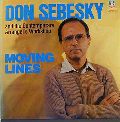 DON SEBESKY - Moving Lines cover