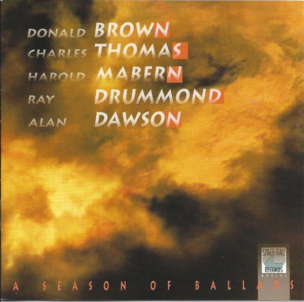 DONALD BROWN - A Season of Ballads cover
