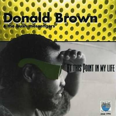 DONALD BROWN - At This Point in My Life cover